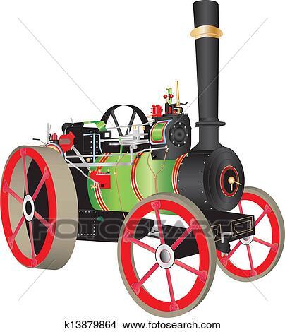 K on Vintage Steam Engine Drawings