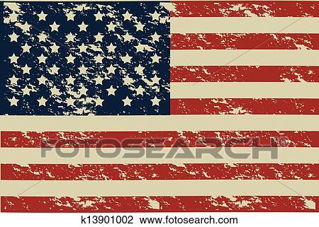 剪贴画 美国, 海报