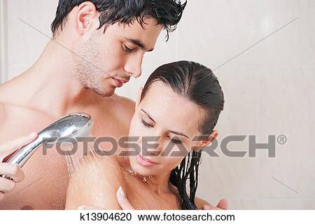 мужчины и женщины моются вместе фото