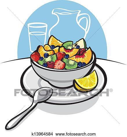 Clipart insalata frutta fresca k13964584 cerca clipart for Clipart frutta