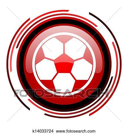 手绘图 - 足球, 图标图片