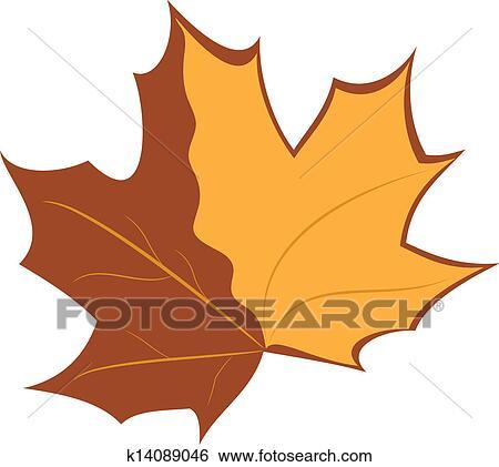 剪贴画 - 秋天, 旗帜图片