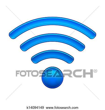手绘wifi图片