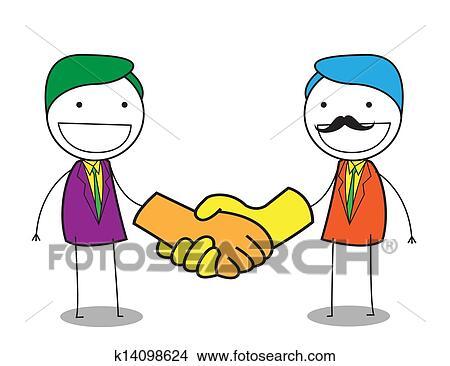 qq群握手头像