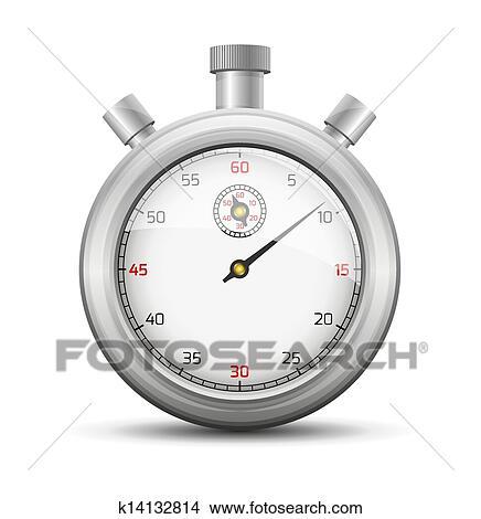 手绘图 - the, stopwatch