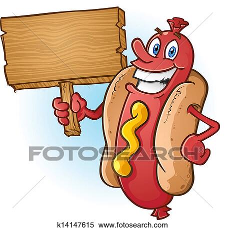 Hot dog Clipart and Illustration. 7,495 hot dog clip art vector ...