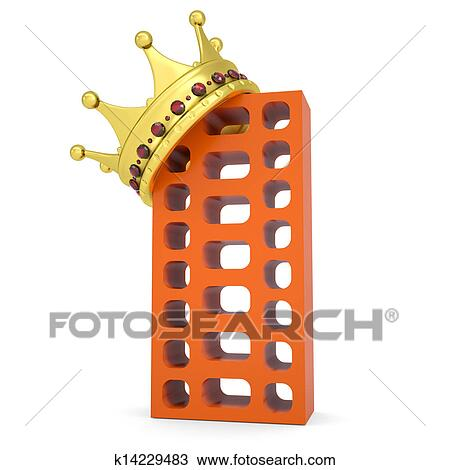 手绘图 - 王冠, 在上,