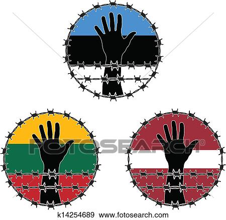 clip art of violation of human rights k14254689 search