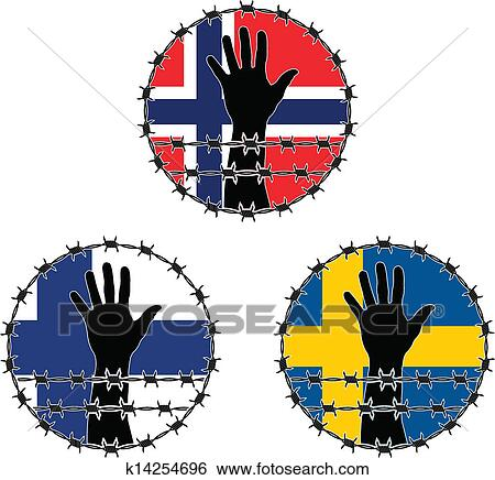 clip art of violation of human rights k14254696 search