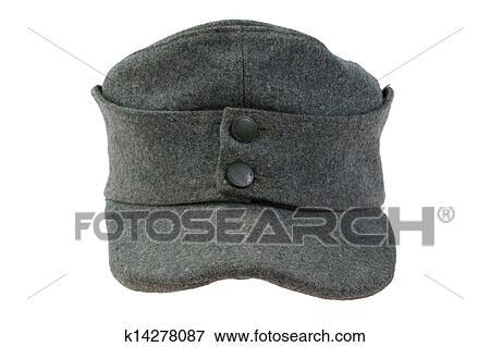 image armee allemande casquette deuxi 232 me guerre mondiale p 233 riode isol 233 sur a blanc
