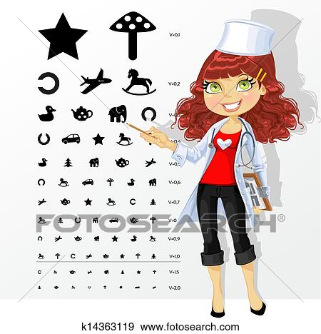 Eye doctor Clipart and Illustration. 1,684 eye doctor clip art ...