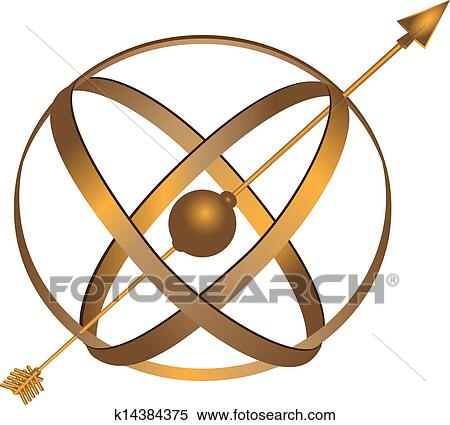 Clipart of Metal Astrolabe k14384375 - Search Clip Art ...