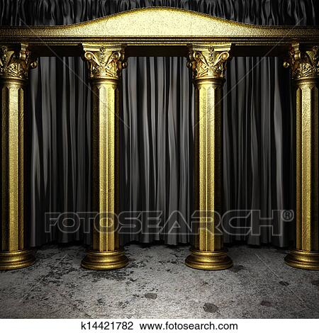 Curtains Ideas Buy Black And Gold Curtains Inspiring Pictures