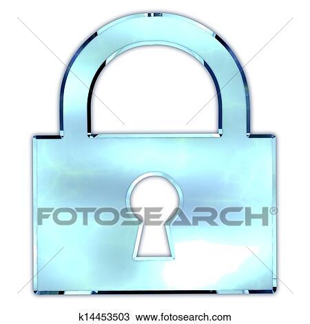 手绘图 - 锁