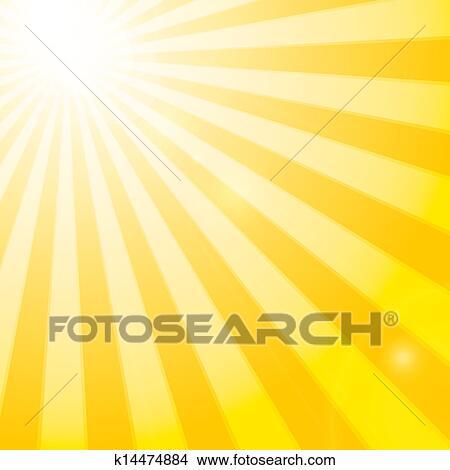 Sun Shining Drawing Clipart Shining Sun in The