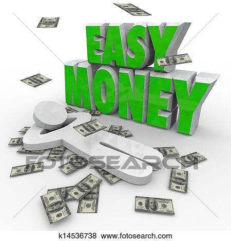 images argent facile personne d lassant dollars tomber depuis ciel k14536738. Black Bedroom Furniture Sets. Home Design Ideas