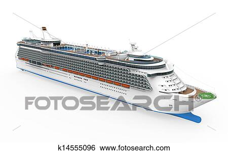 Stock Illustration Of Luxury Cruise Ship K Search Clip - Cruise ship drawings