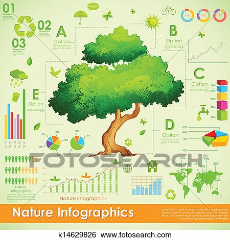 Clip art of environmental infographic k14629826 search for Environmental graphics giant world map wall mural