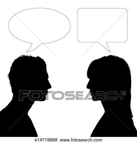 Femme recherche dialogue