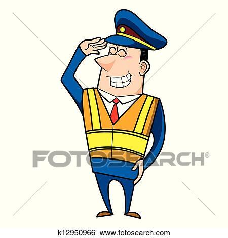 clip art of male cartoon police officer k12950966 search clipart rh fotosearch com clipart police officer clip art police officer