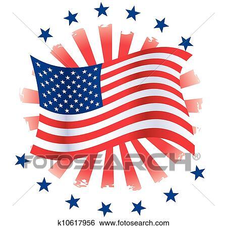 clip art of patriotic circle k10617956 search clipart rh fotosearch com Patriotic Clip Art Patriotic Clip Art