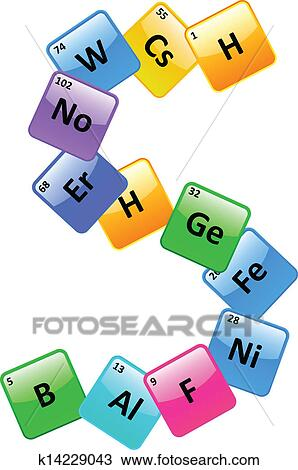 clipart of periodic table number 5 k14229043 search clip art rh fotosearch com periodic table clipart pictures periodic table clip art free