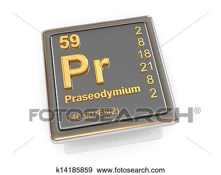an overview of the chemical element praseodymium Overview cerium is the (where ln = a lanthanide element, such as lanthanum, praseodymium (sēr´ēəm) [from the asteroid ceres], metallic chemical element.