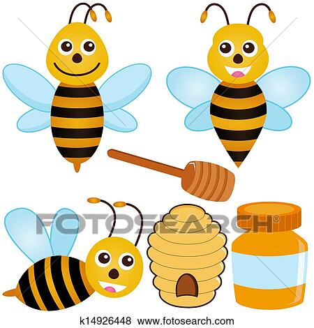 clip art of bee honey beehive k14926448 search clipart rh fotosearch com beehive clipart png beehive clipart black