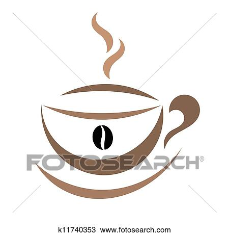 Clipart Of Coffee Cup Illustration K11740353 Search Clip Art