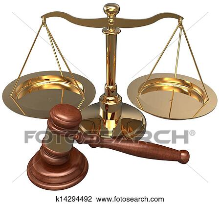 law scale and gavel - photo #27