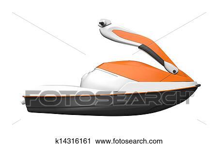 Clipart jet ski k14316161 recherchez des clip arts des illustrations des dessins et des - Jet ski dessin ...