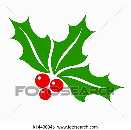 Clipart Holly