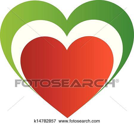Clip art italiano cuore k14782857 cerca clipart for Clipart cuore