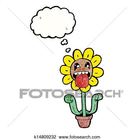 剪贴画 卡通漫画, 向日葵