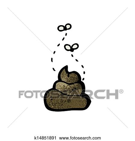 Clipart of cartoon dog poop k14851891 - Search Clip Art ...