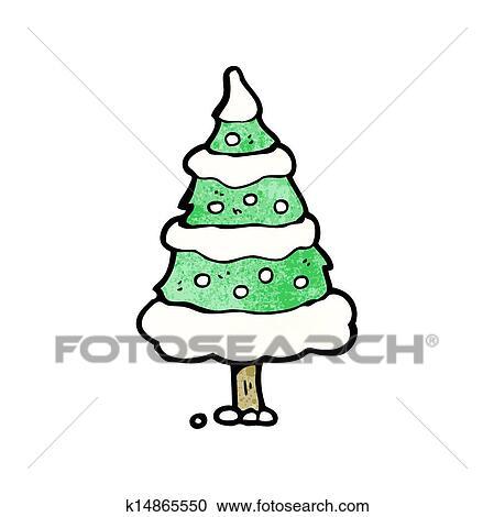 幼儿圣诞树黏贴画