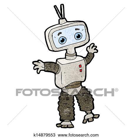 机器人卡通图案