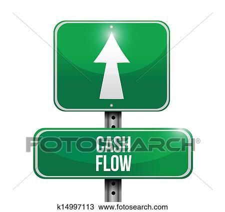 画 现金流, 路标, 图解