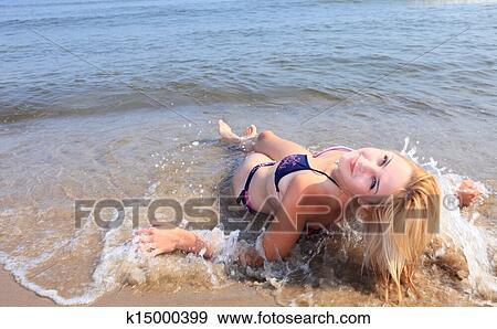 sunbathing at the seaside essay