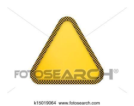 手绘图 - 警告三角形