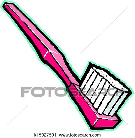 Clipart of toothbrush vector illustration k15027501 - Search Clip ...
