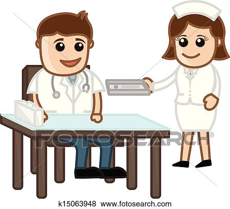 Doctor Equipment Drawing Clip Art Doctor in Clinic