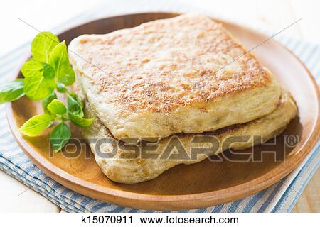 Stock photography of arab food martabak or murtabak also for Arab cuisine singapore