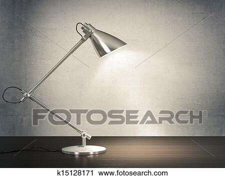clipart lampe bureau k15128171 recherchez des clip arts des illustrations des dessins et. Black Bedroom Furniture Sets. Home Design Ideas