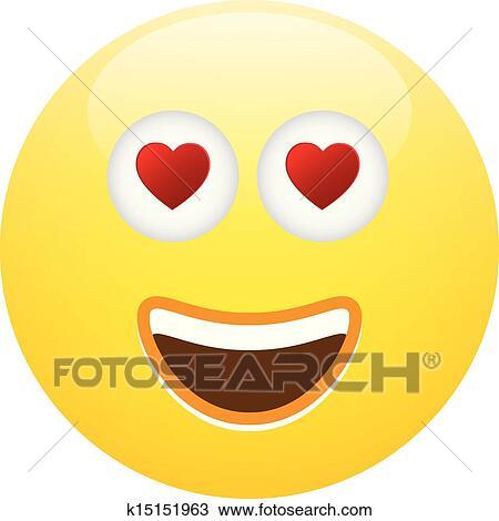 Smiley pour flirter