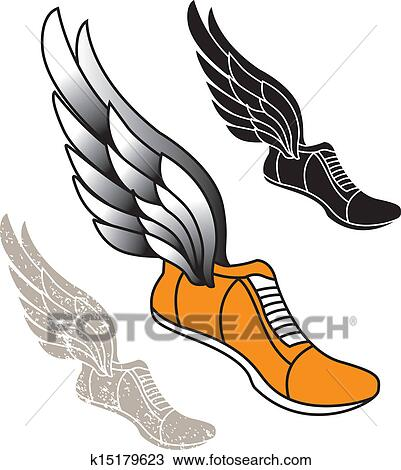 Running shoes Clipart Illustrations. 3,701 running shoes clip art ...