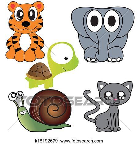 剪贴画 - 动物, 图标