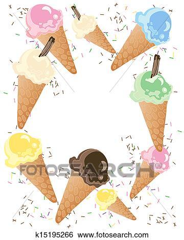 剪贴画 冰淇淋, 广告