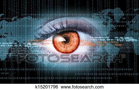 图片银行 - 特写镜头, 在中, 人类眼睛图片