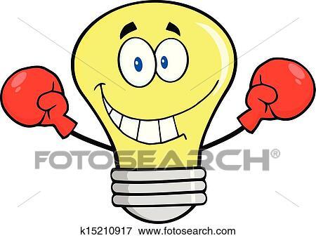 Clipart ampoule porter gants boxe k15210917 recherchez des cliparts des illustrations - Dessin gant de boxe ...